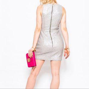 NWT Naven Metallic Sequin Vixen Dress Sz.4
